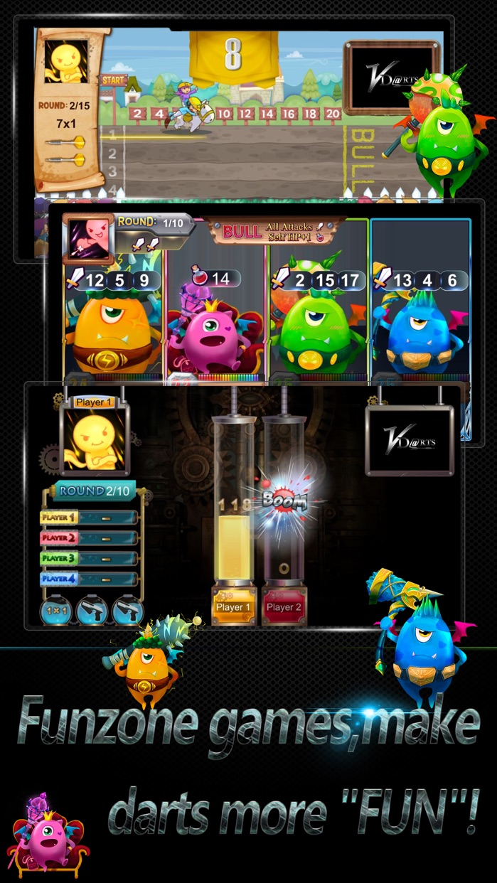VDartsGame Screenshot