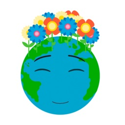 Green Earth Day Animated Emoji