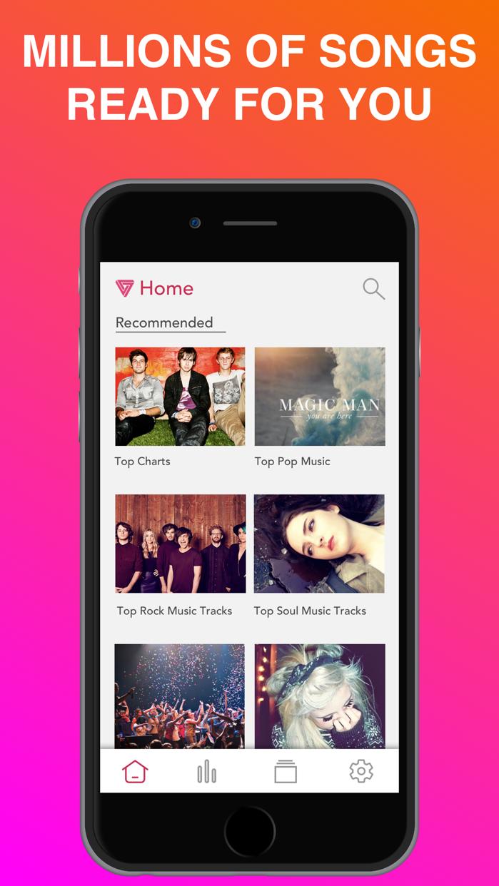 Tube Play - MP3 Music Player Screenshot