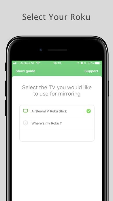 Mirror for Roku - AirBeamTV screenshot 3
