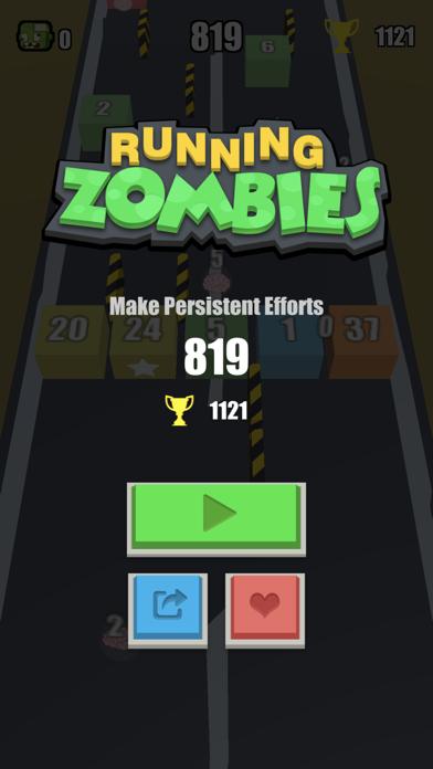 Running Zombies screenshot three