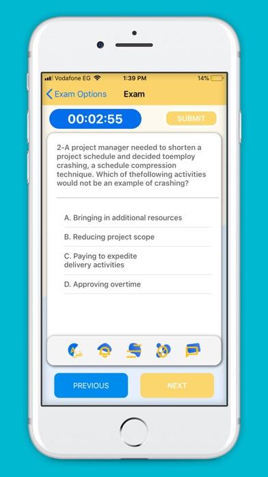 Screenshot of PMP Master App