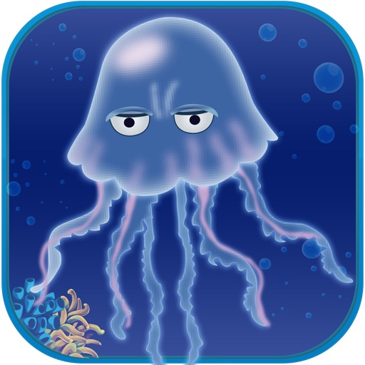 Jelly Fish Swim Rally- Escape Jellyfish Sponge Dive reef