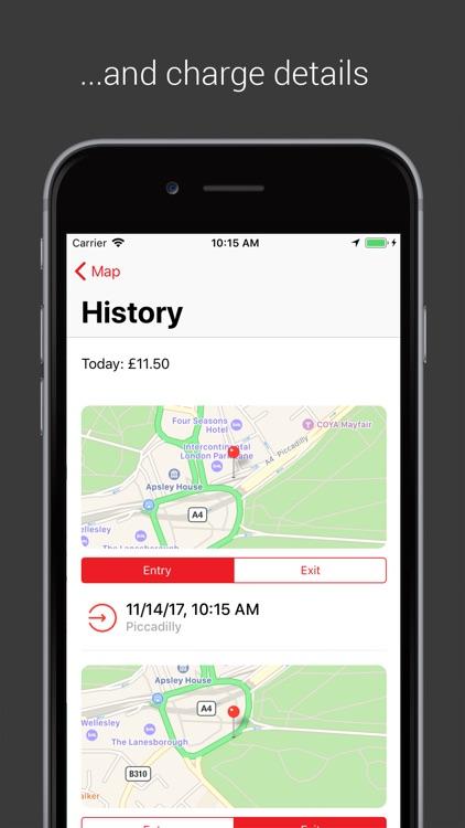 Congestion Zone App screenshot-3