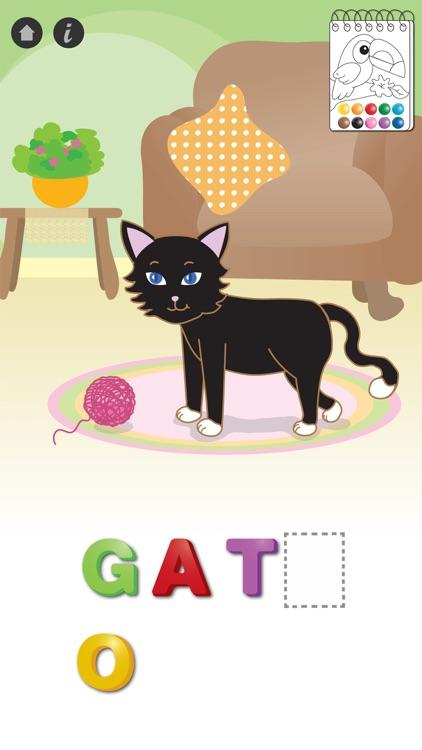 Leo Spanish Spelling Game screenshot-3
