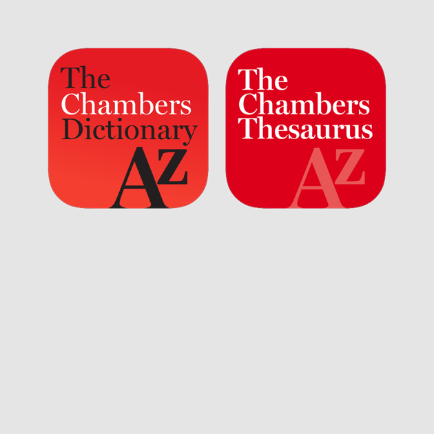Chambers Dictionary And Thesaurus On The App Store