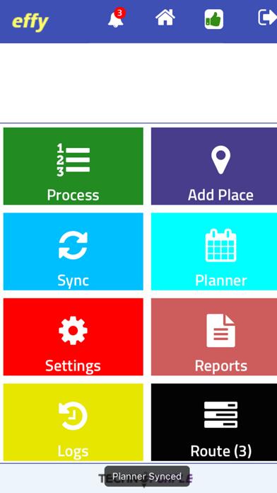 Effy TechnoPurple Track Task screenshot two