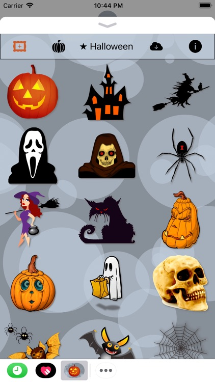 Happy Halloween • 140 stickers