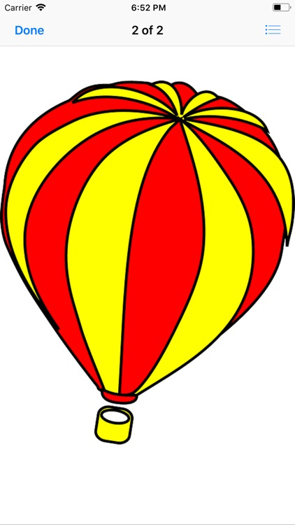 Lotsa Hot Air Balloon Stickers screenshot-3