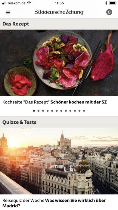 SZ.de Nachrichten SZ Скриншоты10
