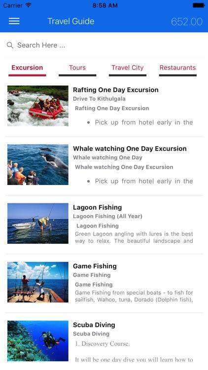 Exotic Travel Guide screenshot-4
