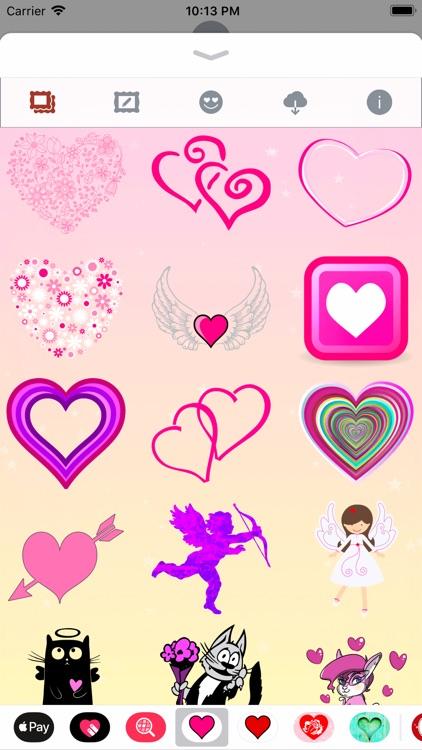 Pink Love • Emoji and stickers screenshot-6