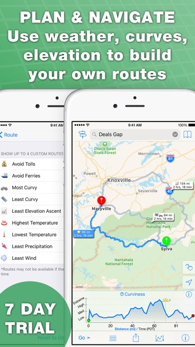 inRoute Route Planner app image