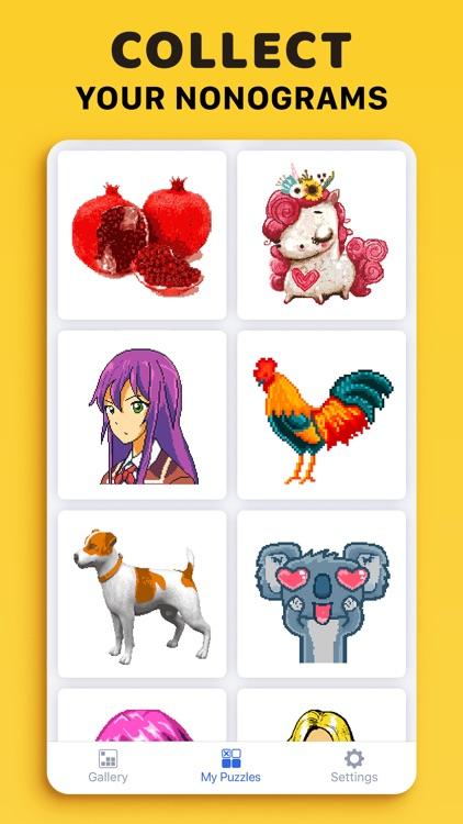 Nonograms: Griddlers & Puzzles screenshot-4
