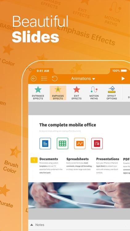 OfficeSuite - Office Editor screenshot-3