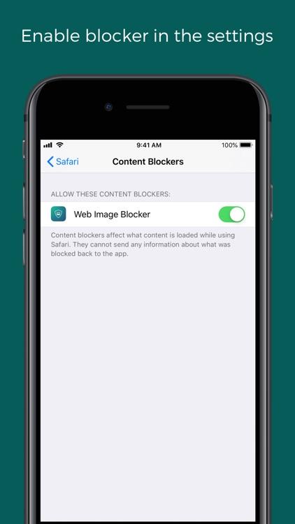 Web Image Blocker screenshot-5