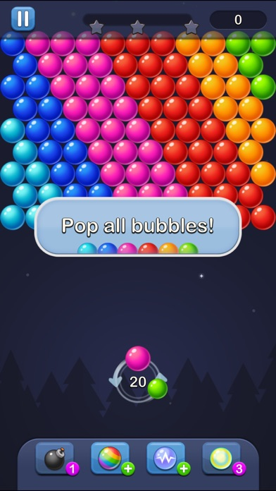 Bubble Pop! Puzzle Game Legend screenshot 1