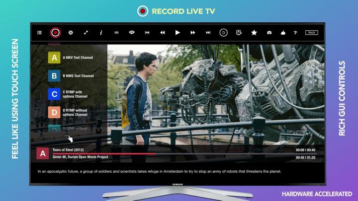 Screenshot #2 pour GSE SMART IPTV PRO