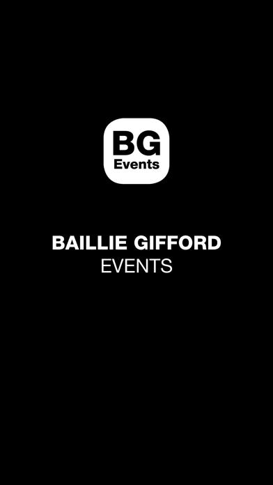 BG Events screenshot 1