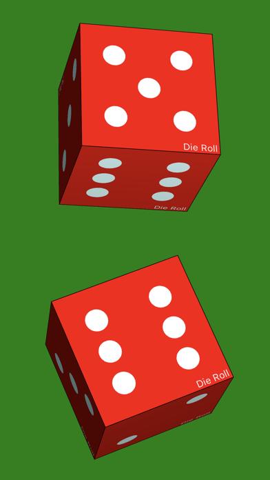 Die Roll - dice roller app screenshot two
