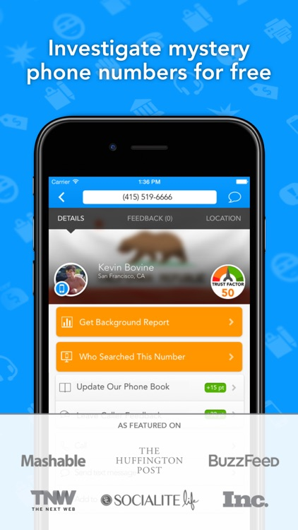 CallerSmart: Caller ID + Block screenshot-0