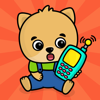 Baby telefon spel för små barn