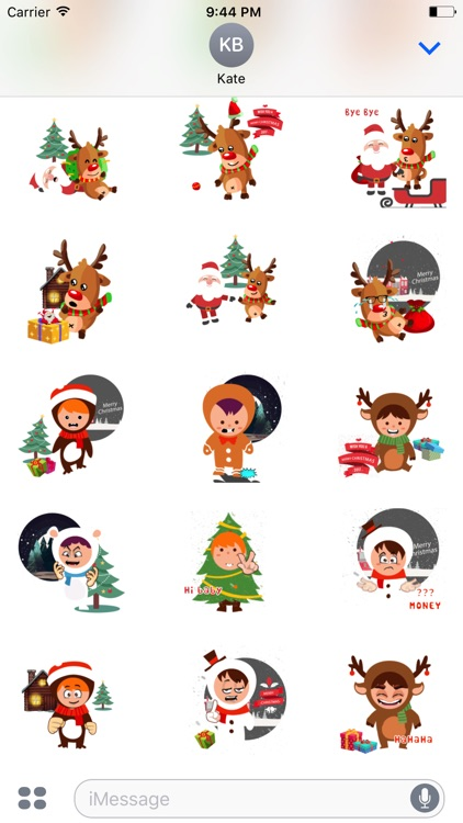 Animated character Xmas