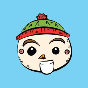 Little Snowman Sticker Pack app