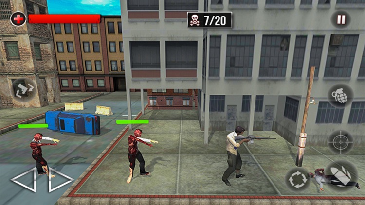 City Police Zombie Defense 3D screenshot-4