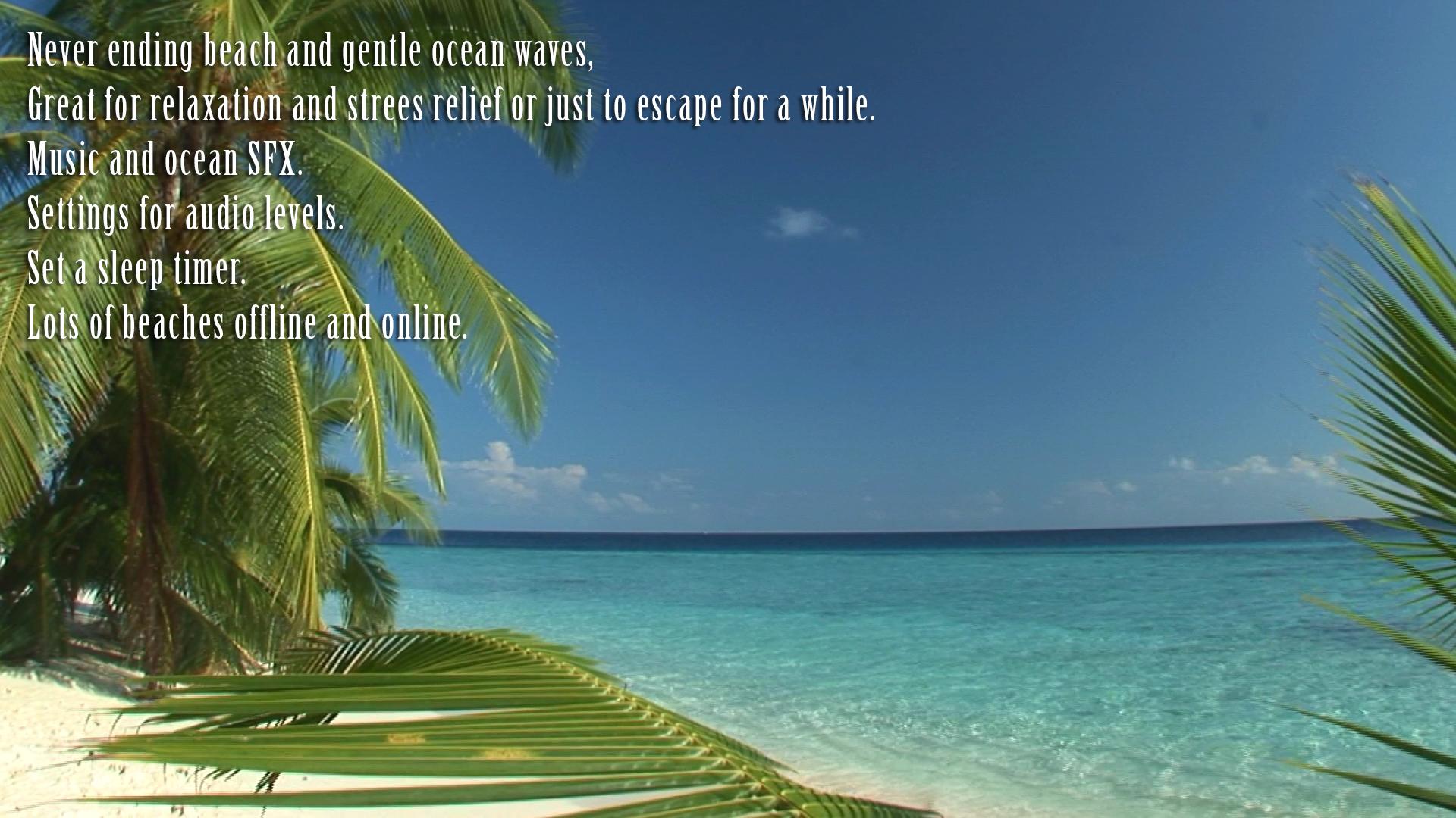 Relaxing Beaches In HD screenshot 9