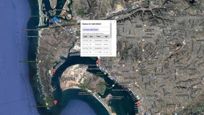San Diego Tide Chart Screenshot