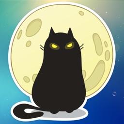 Mystic Cat! Stickers