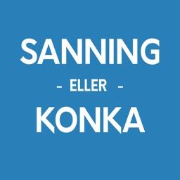 Sanning Eller Konka Tips