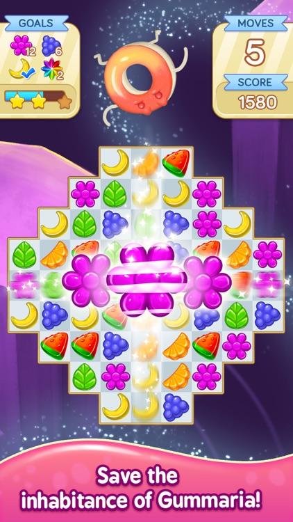 Gummy Gush: Match 3 Puzzle
