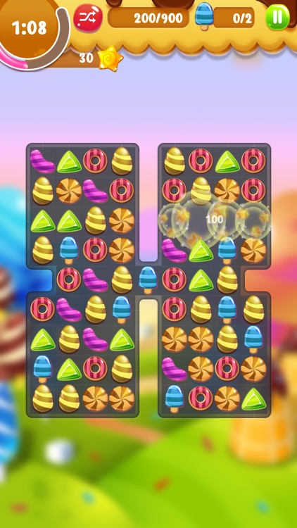 Crunchy Crush - Match 4 Games! screenshot-4