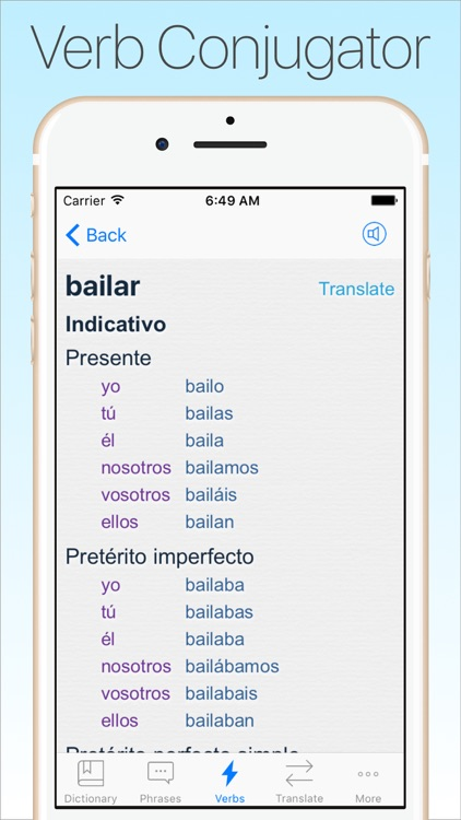 Spanish Dictionary & Translator + screenshot-3