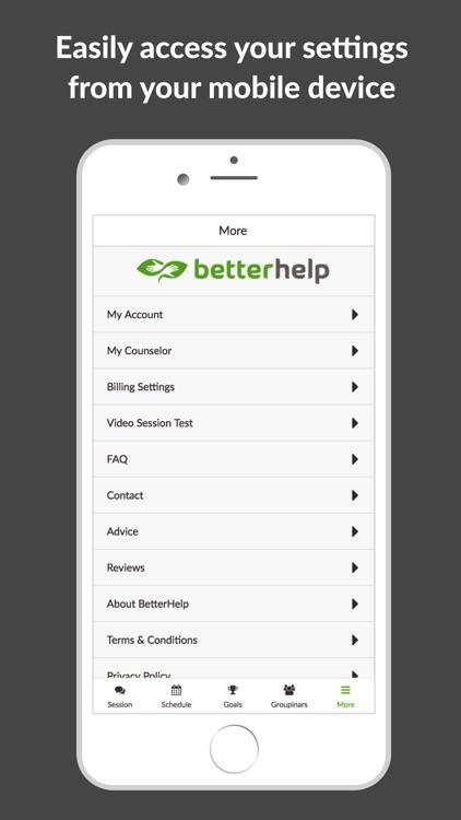 BetterHelp - Online Counseling screenshot-4