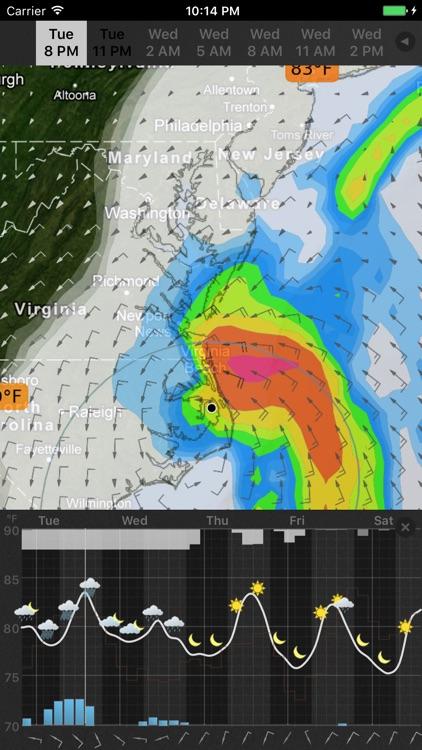 WeatherMap+ screenshot-3