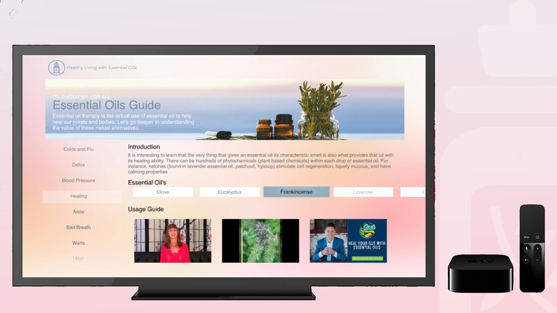 Essential Oils TV guide screenshot 2