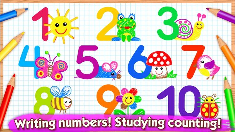 123 Draw Kids to Learn Numbers screenshot-0