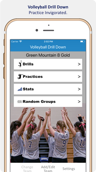 Volleyball Drill Down screenshot one