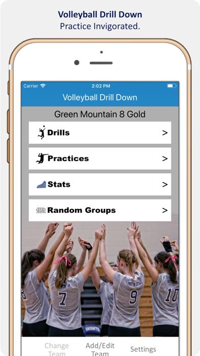 Volleyball Drill Down screenshot one