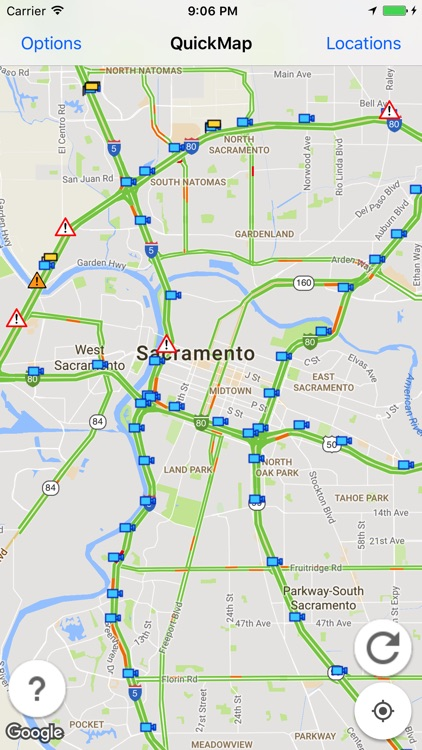 Caltrans QuickMap screenshot-0