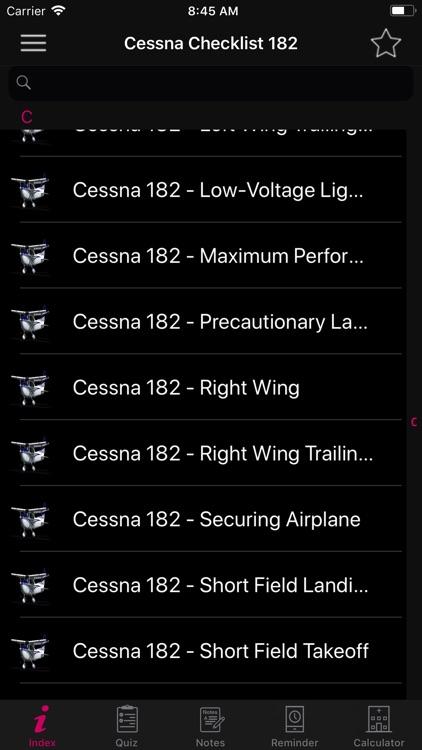 Cessna 182 Preflight Checklist screenshot-5