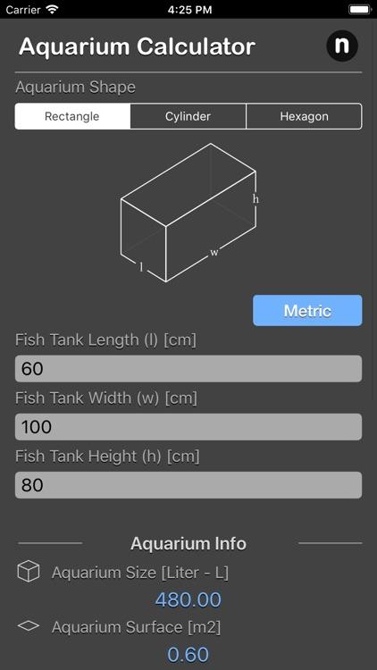 Aquarium Calculator Plus by Nitrio