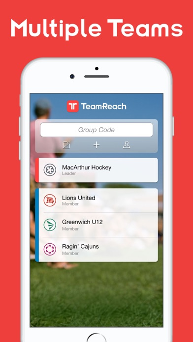 Screenshot for TeamReach – Your Team App in Dominican Republic App Store