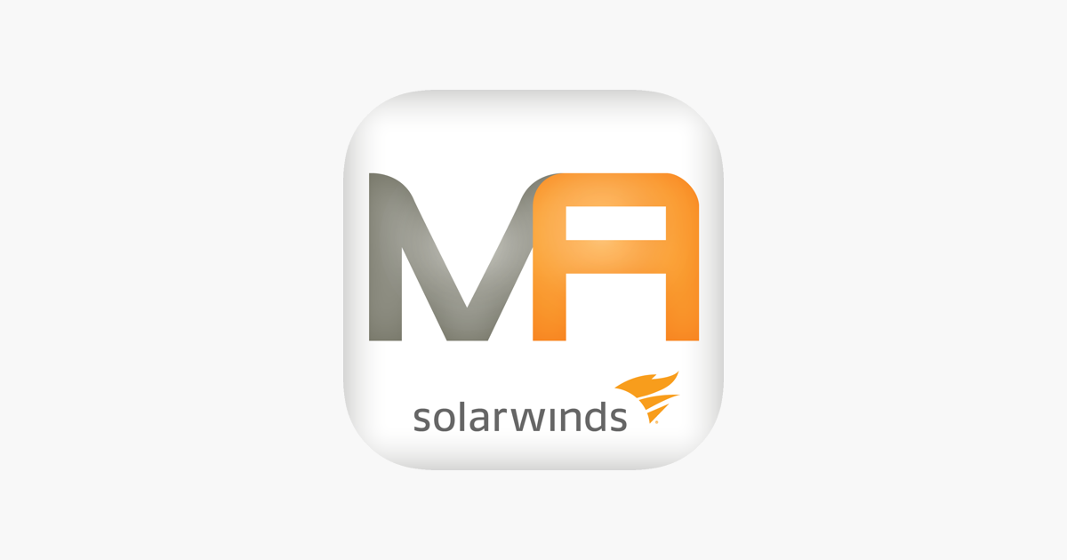 SolarWinds Mobile Admin Client on the App Store
