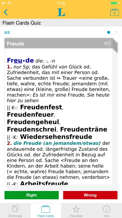 German Learner's Dictionary screenshot-2