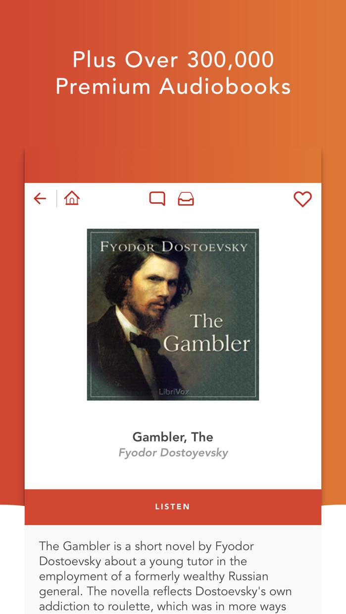 Audiobooks HQ -- audio books Screenshot