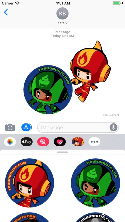 Turbonauts™ Stickers